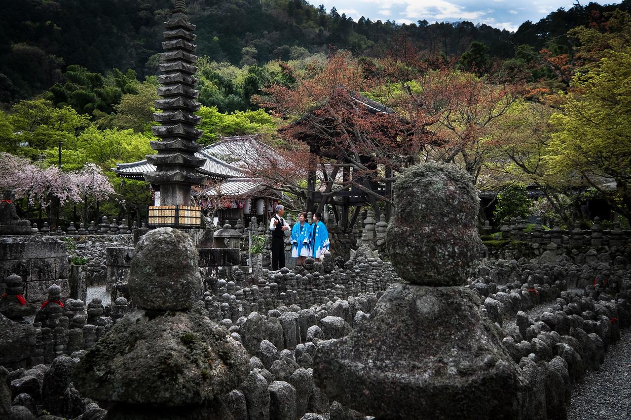 Adashino Nenbutsuji Cemetry and Temple