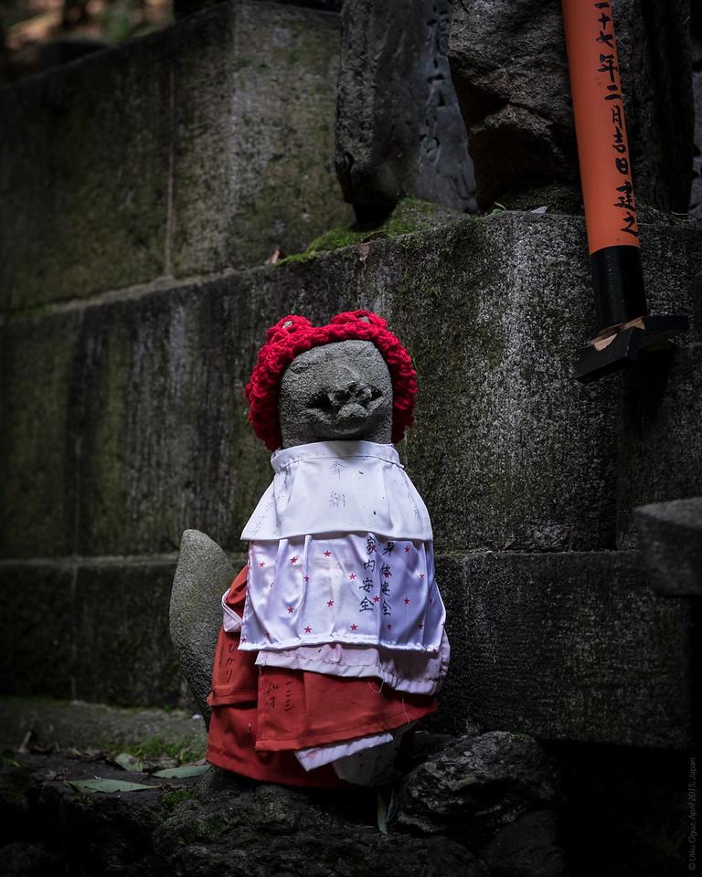 Temple Guards at Fushimi Shrine