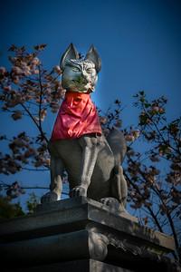 Temple Guards At Kiyomizu