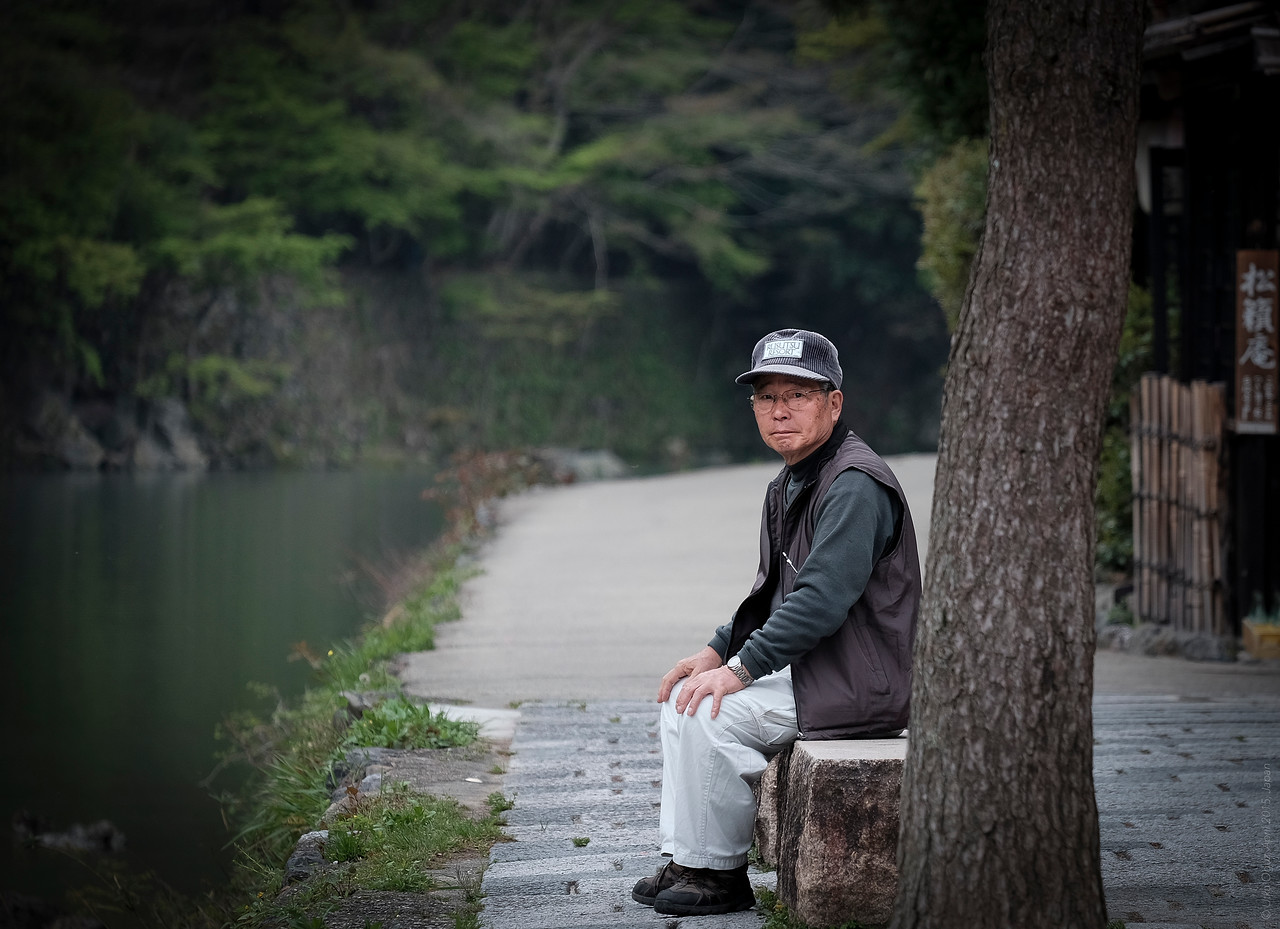 The Lonely Man of Arashiyama....