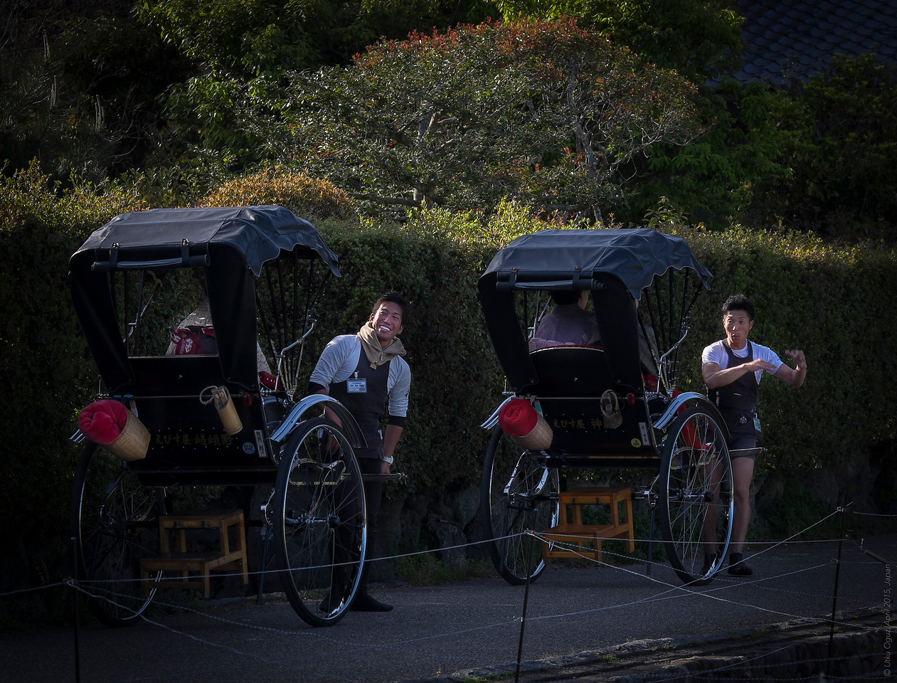 Fun-Ride by Rickshaw Riders...
