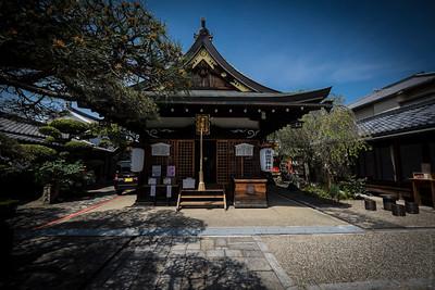 A Mini Temple in Nara , Japan