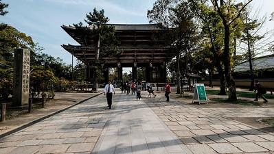 Todaiji Temple, Main Gate , Nara , Japan