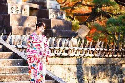 Kimono's in Kyoto  Photo Credit: Kathleen Virginia Photography | kathleenvirginia.com