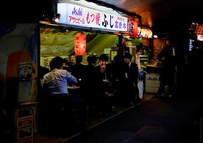 Izakaya, Shimbashi , Tokyo