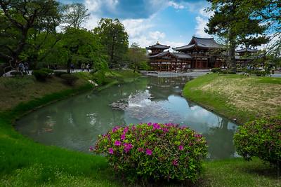 Byodo In Temple Dedicated to Ami Tofu, Uji , Kyoto , Japan
