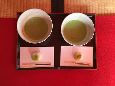 Tea Ceremony at Hamarikyu Gardens, Tokyo