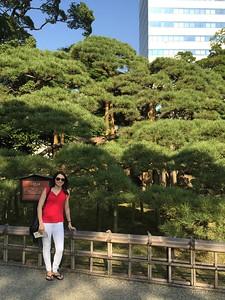 269 year age difference, Hamarikyu Gardens, Tokyo