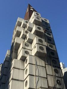 Nakagin Capsule Tower, Shimbashi, Tokyo