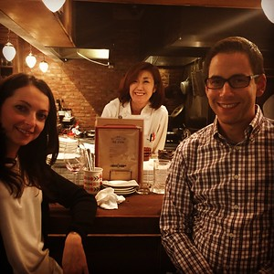 Our translator/chef, wine no Ruisuke zeRo, Tokyo