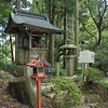Trail-side shrine at Mount Hiei.