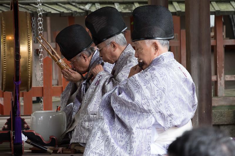 Nara shinto blessing