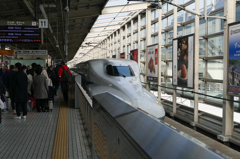 Shinkansen - Japan's high speed bullet trains