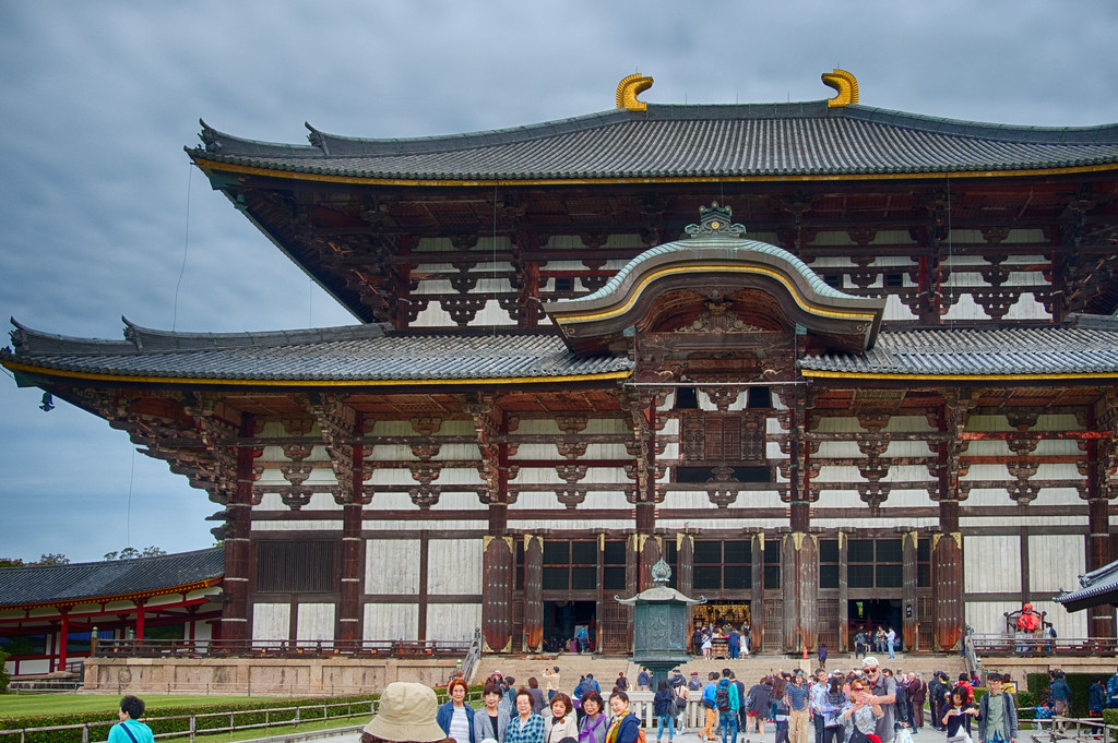 Todai-ji buddhist temple