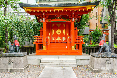 A subsidiary shrine in the Kanda shrine