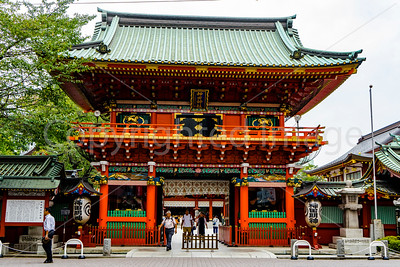 Gate to the Kanda Shrine