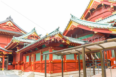 Buildings in the Kanda Shrine