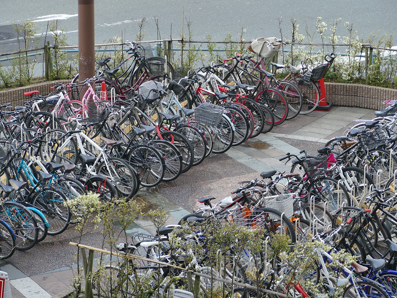 Hakata - the city of bikes