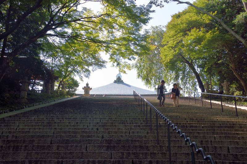 The stairs up to Hokke-ji Soji-jn To-do