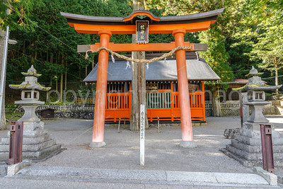 Shinto shrine in Narai