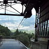 From the top of the rope tram on Mt. Hiei