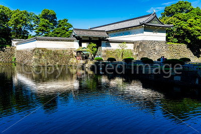 Gate to the Imperial Palace grounds in Tokyo