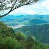 Northern Kyoto below from Mt. Hiei (2250')