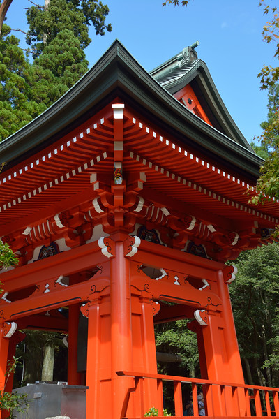 The Temple bell at Dai-Ko-Do, atop Hiei-Zan