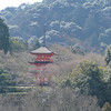 Red temple - Kyoto