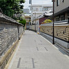Old wall and a new wall in Yanaka