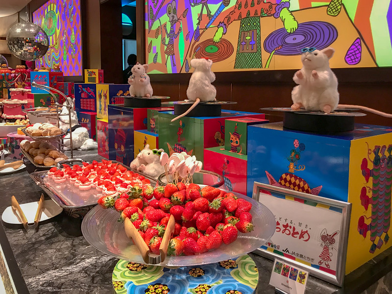 Special Strawberry Buffet at Hilton