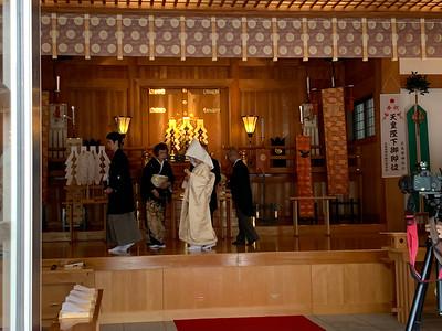 Inside The Main Hall, Gokoku Shrine.