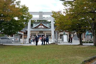 Torii Gate, Gokoku Shrine.