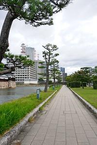 Heading towards the Shukkeien Garden.