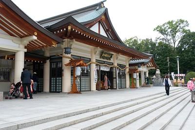 The Main Hall, Gokoku Shrine.