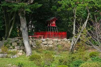 Mt. Kifuku was the original site of Inari-jinja Shrine in 1713 destroyed in the war.