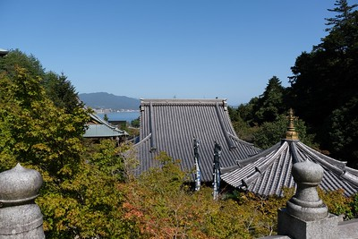 View from Daishi-do Hall.