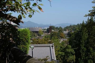 View across Miyajima Island.