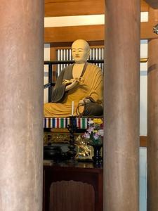 The Main Deity Kokuzo-Bosatsu (Akasagarbha) .