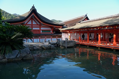Itsukushima Shrine.