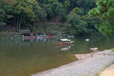 Along the Katsura River.