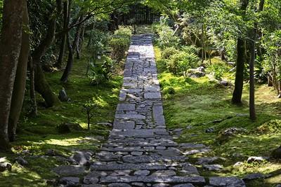 Beautiful stone pathway...