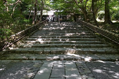 Stairway leading to the Temple.