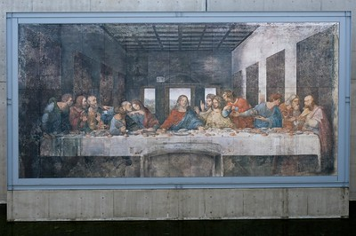 "Leonardo Da Vinci, ""The Last Supper""."
