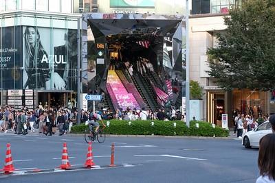 Tokyu Plaza in the Harajuku shopping district.