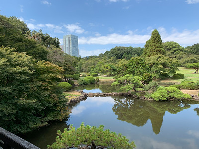 Originally, Shinjyuku Gyoen was the Imperial family's private garden.