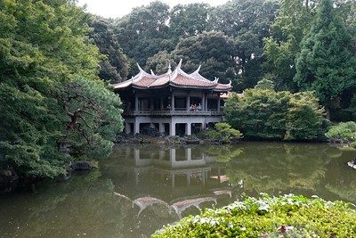 Kuy-Goryo-Tei, Taiwan Pavilion on Middle Pond.
