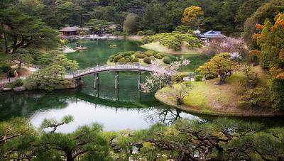 Ritsurin Gardens, Takamatsu, Japan