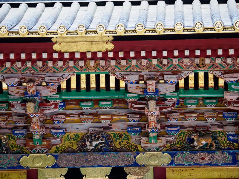 Toshogu Shrine--one of 3 sacred storehouses