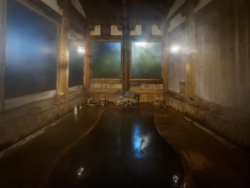 Kamakura hot spring spa in hotel